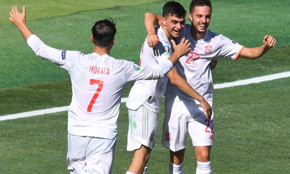 Sarabia a brillé lors de la large victoire de l'Espagne contre la Slovaquie