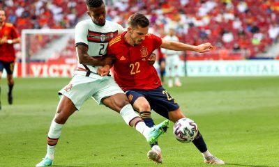 Le Portugal de Danilo et l'Espagne de Sarabia se quittent sur un nul 0-0