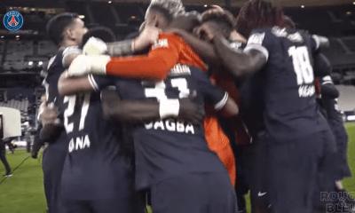 Revivez la finale de Coupe de France et les célébrations du PSG auprès des joueurs