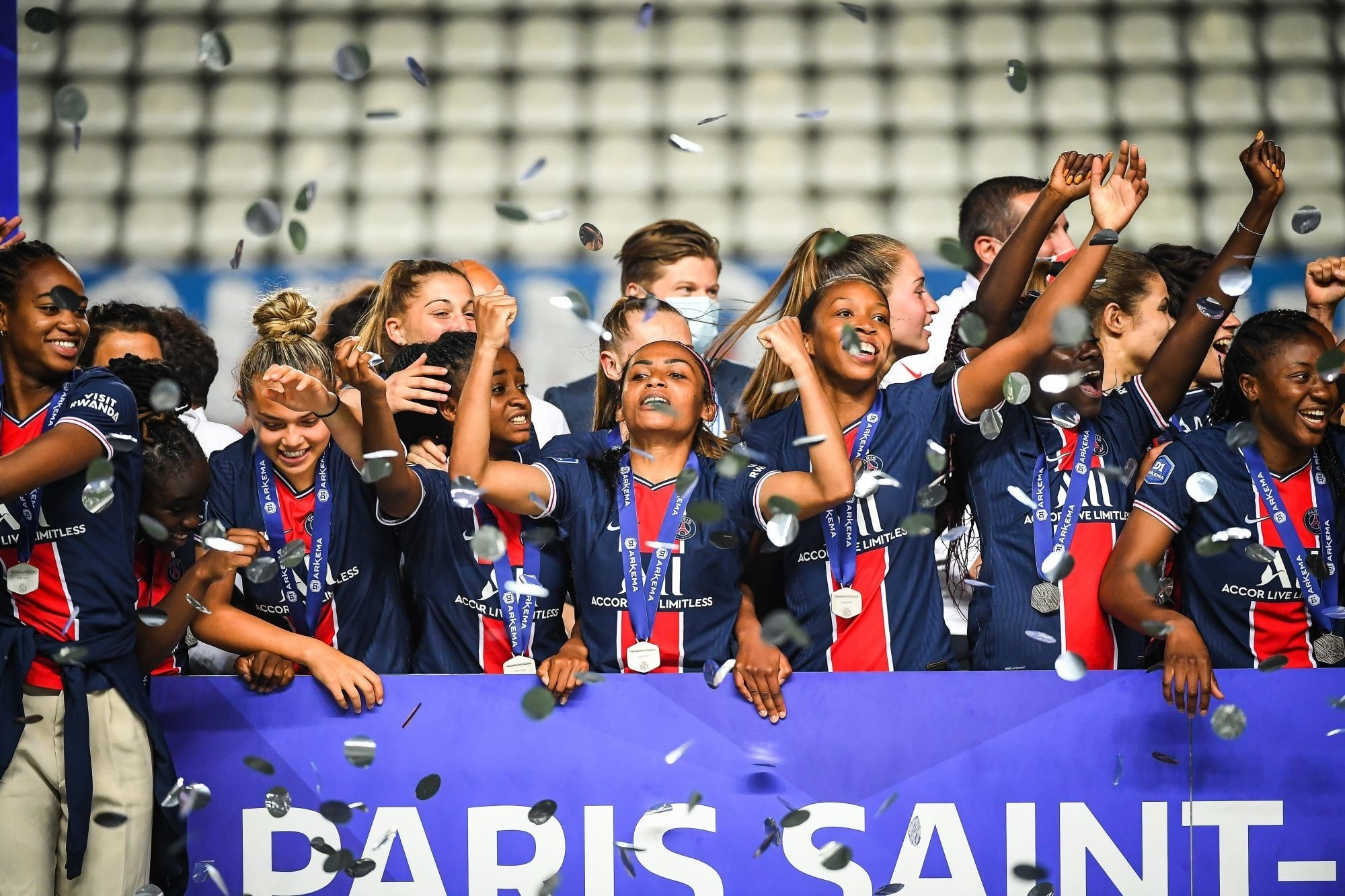 Le PSG remporte tous les titres individuels des Trophées D1 Arkema