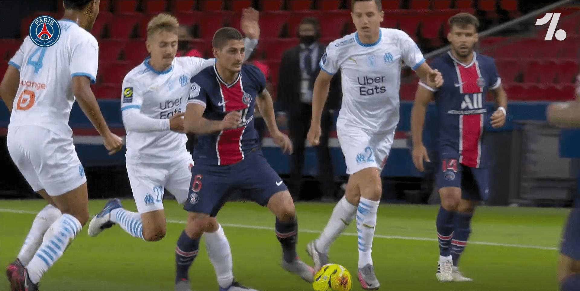 Retrouvez les meilleurs moments de Verratti avec le PSG sur la saison 2020-2021
