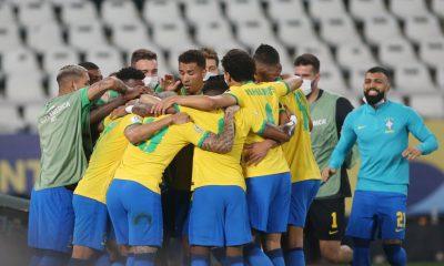 Brésil/Pérou - Neymar décisif et Marquinhos solide lors de la qualification en finale