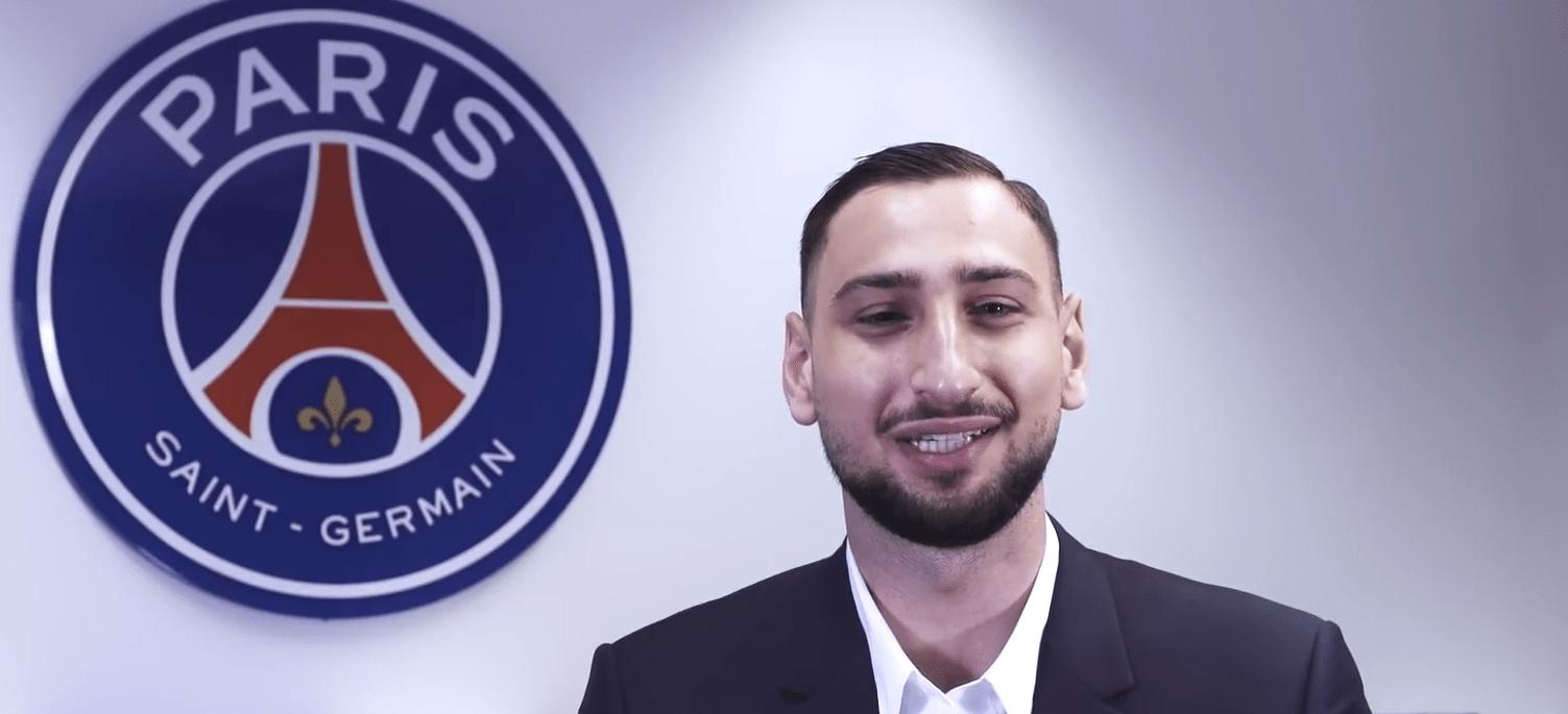 """Donnarumma raconte avoir parlé avec Buffon du PSG """"cela a été un plus pour venir"""""""