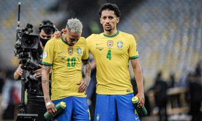 Copa America - Marquinhos et Neymar dans l'équipe type, pas Di Maria ni Paredes
