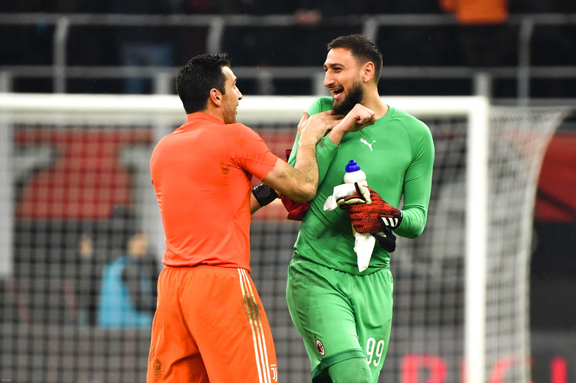 """Buffon l'assure, Donnarumma """"devrait viser le Ballon d'Or"""""""
