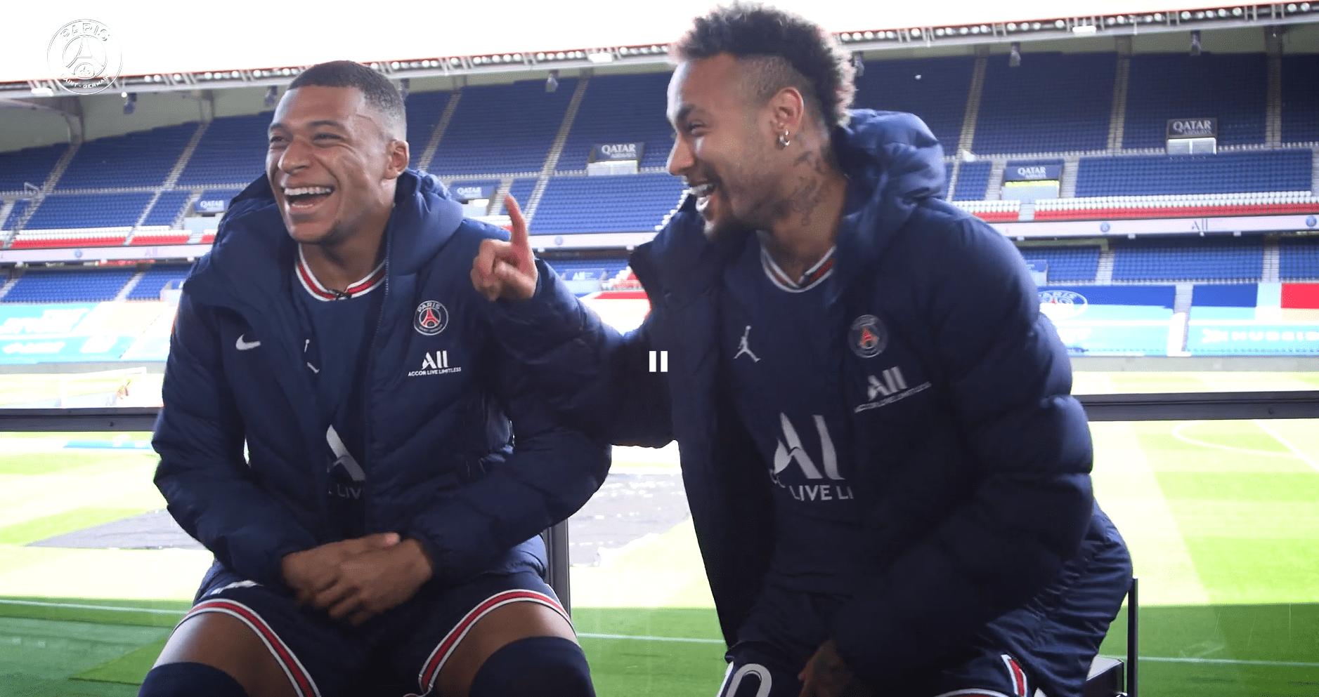 L'interview croisée de Mbappé et Neymar : connexion, Ballon d'Or et objectifs