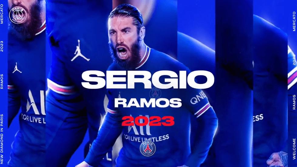 Officel - Sergio Ramos a signé au PSG jusqu'en 2023 !