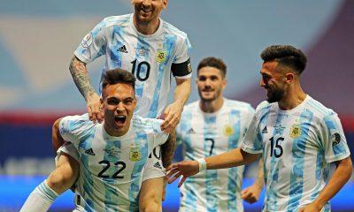 Résumé vidéo Argentine/Pérou (1-0)