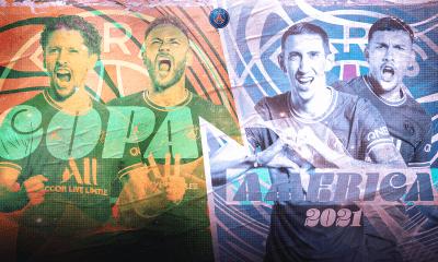 Les images du PSG ce samedi: Interview de Sergio Ramos et Argentine/Brésil