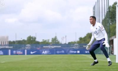Revivez l'entraînement au plus près des gardiens du PSG