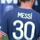 Messi est arrivé au Camp des Loges pour son premier entraînement au PSG
