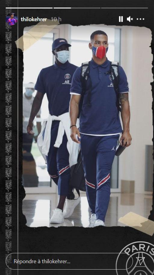 Les images du PSG ce samedi: Déplacement à Tel Aviv pour Lille/PSG