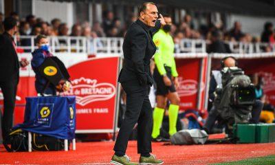 """Brest/PSG - Der Zakarian assure """"Il n'y a pas de regret."""""""