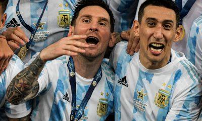 """Di Maria sur un nuage après l'arrivée de Messi """"je n'en reviens toujours pas"""""""