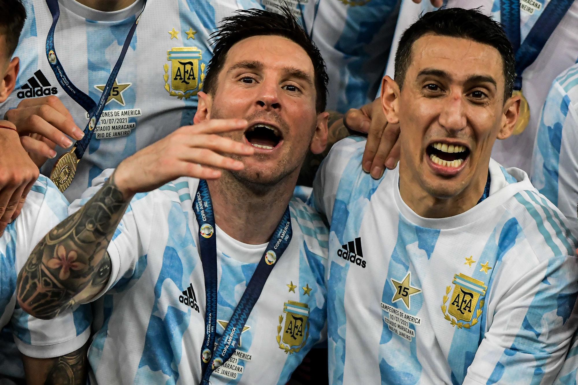 Messi, Di Maria et Paredes sélectionnés avec l'Argentine pour la trêve d'octobre