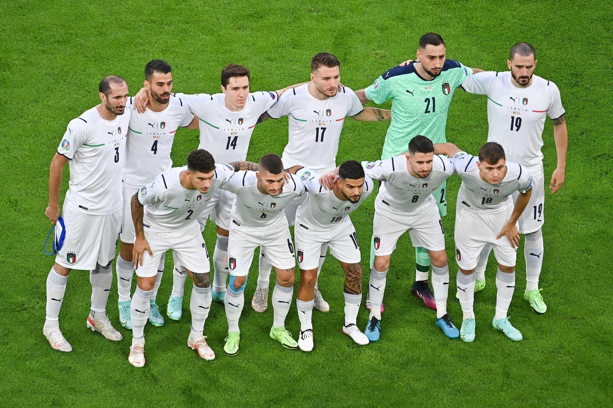 Italie/Espagne - Les équipes officielles : Donnarumma et Verratti titulaires