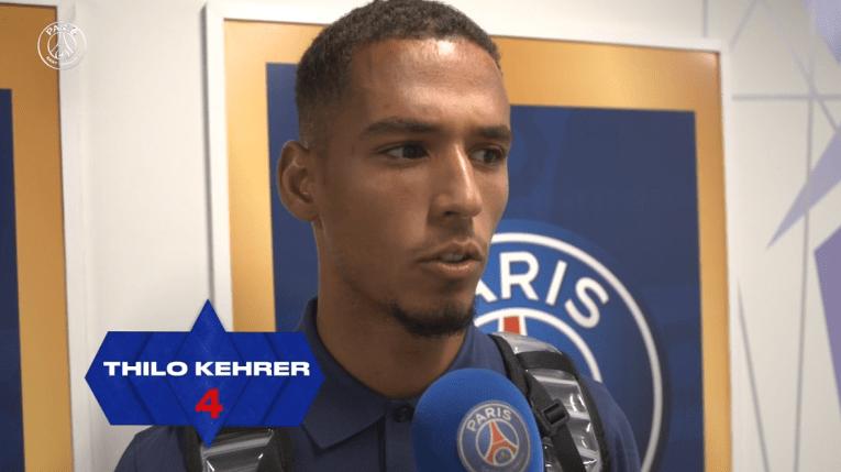 """Lille/PSG - Kehrer souligne """"Nous avons pêché dans la finition."""""""