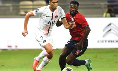 Lille/PSG - Pochettino souligne la concentration et la performance de Hakimi face aux sifflets
