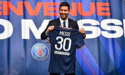 """Messi évoque l'arrivée au PSG avec sa famille """"Après un coup dur, nous sommes heureux de nouveau."""""""