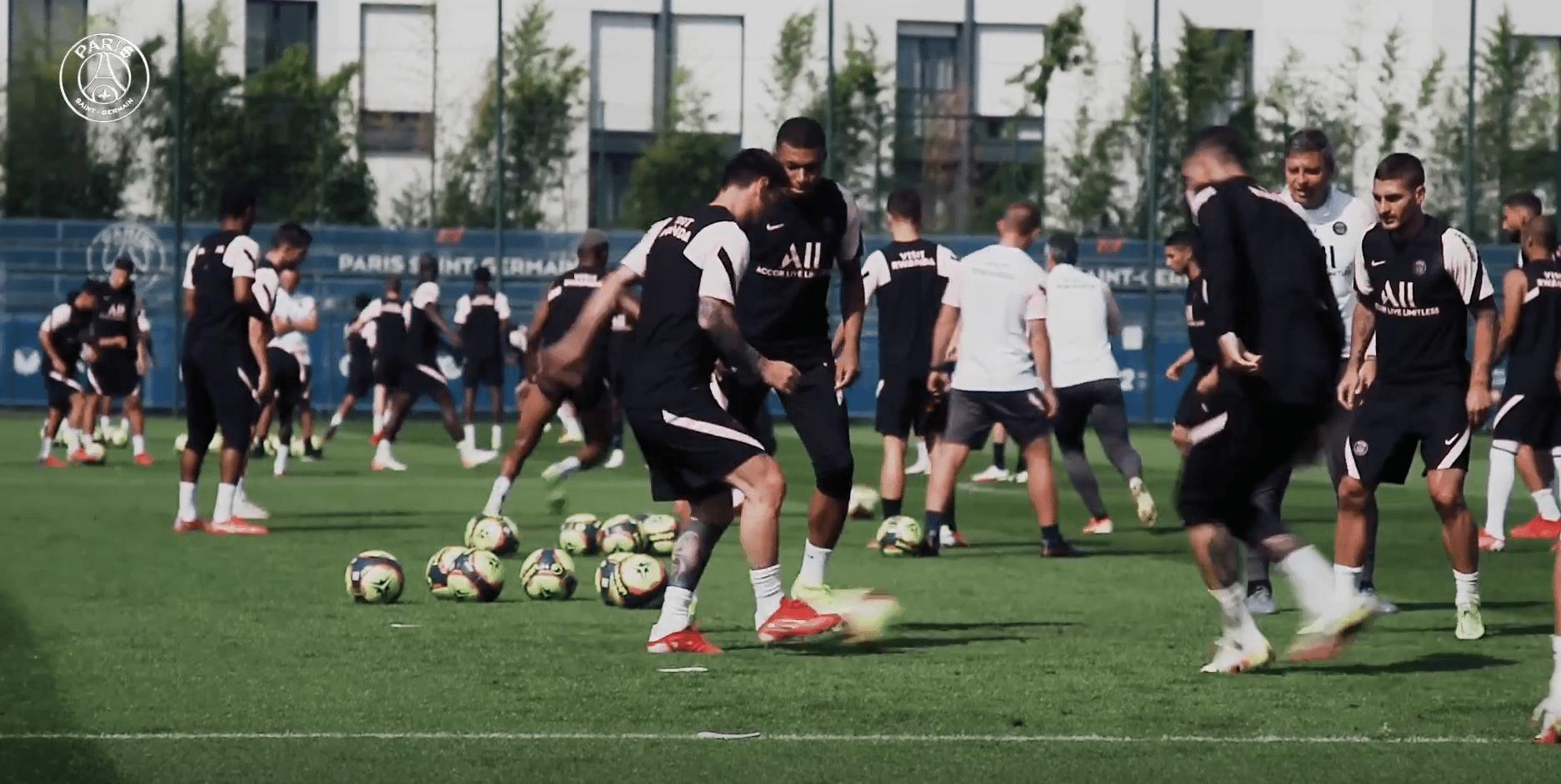 PSG/Montpellier - Suivez le début de l'entraînement parisien ce vendredi à 11h