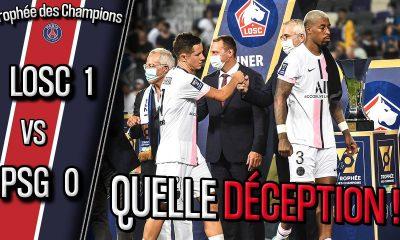 Podcast Lille/PSG - Pochettino, Icardi, Kimpembe, Hakimi et sifflets : débrief de la défaite