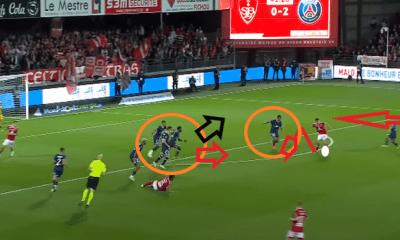 Brest/PSG - L'analyse des buts encaissés par Paris : enchaînement d'erreurs et inattention