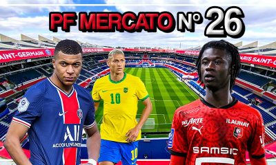 Podcast PSG - Mbappé, Richarlison et Camavinga, on fait le point sur le mercato !