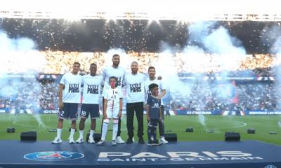 Revivez la présentation des recrues du PSG au Parc des Princes au plus près des joueurs