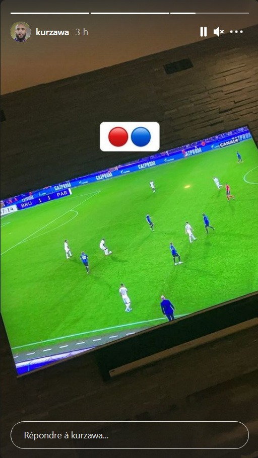 Les images du PSG ce mercredi: matchs nuls Bruges/PSG en Youth League et Champions League