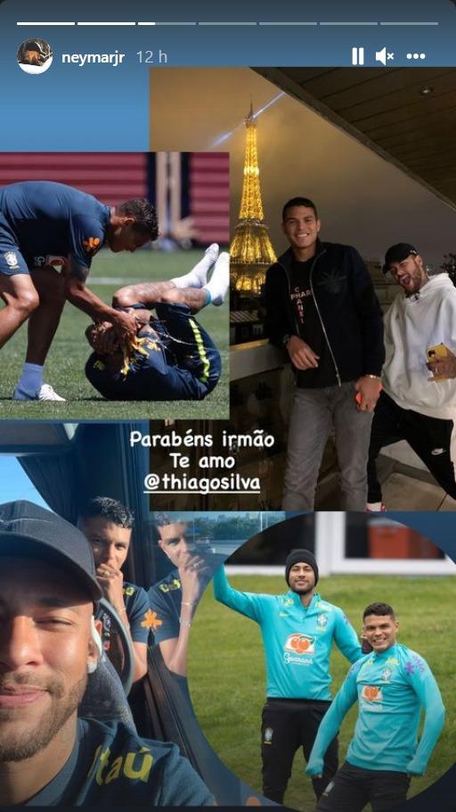 Les images du PSG ce mercredi: Victoire à Metz et anniversaire de Thiago Silva