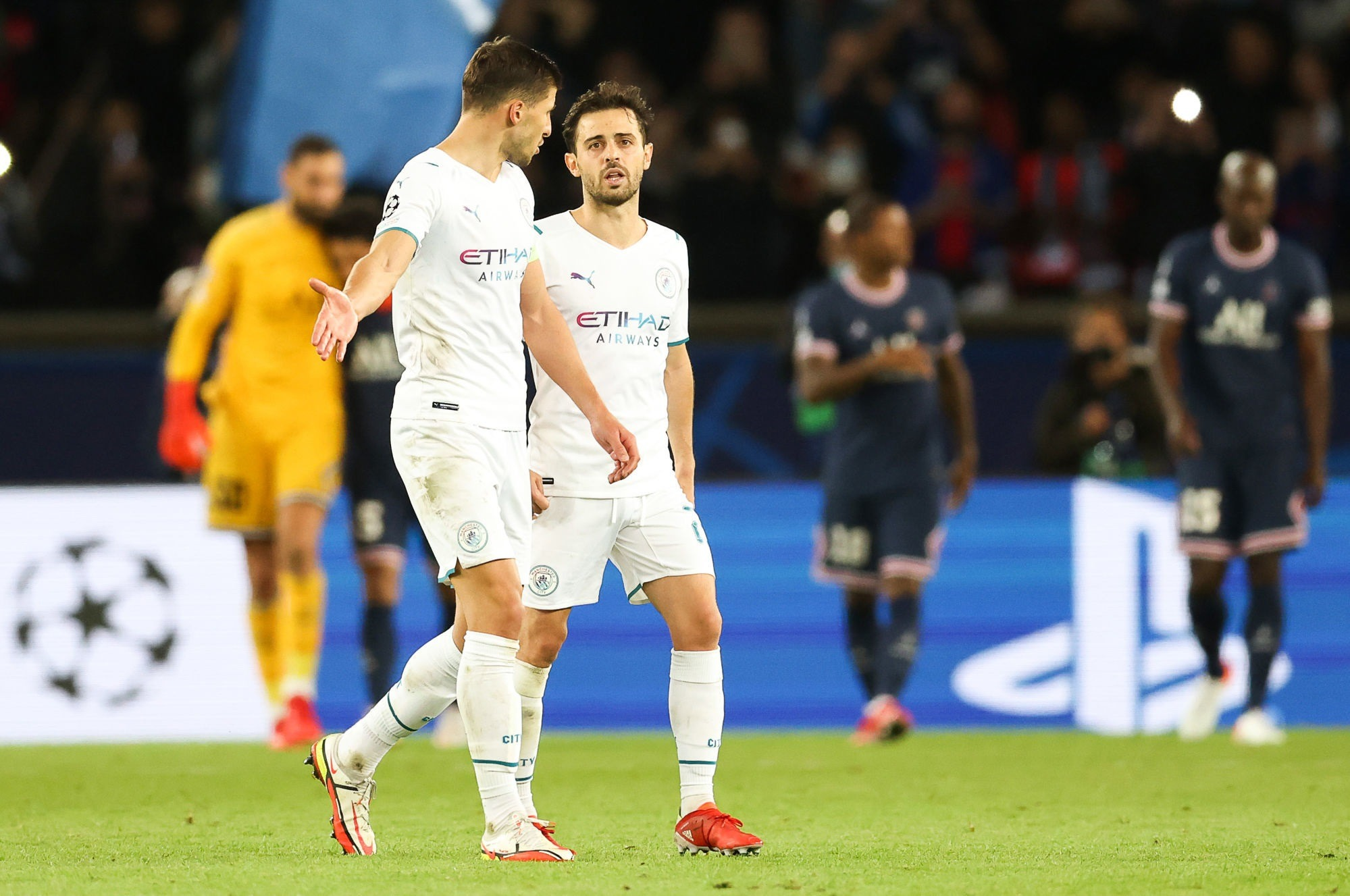 "PSG/City - Bernardo Silva ""C'est le football. Mais c'est forcément frustrant."""