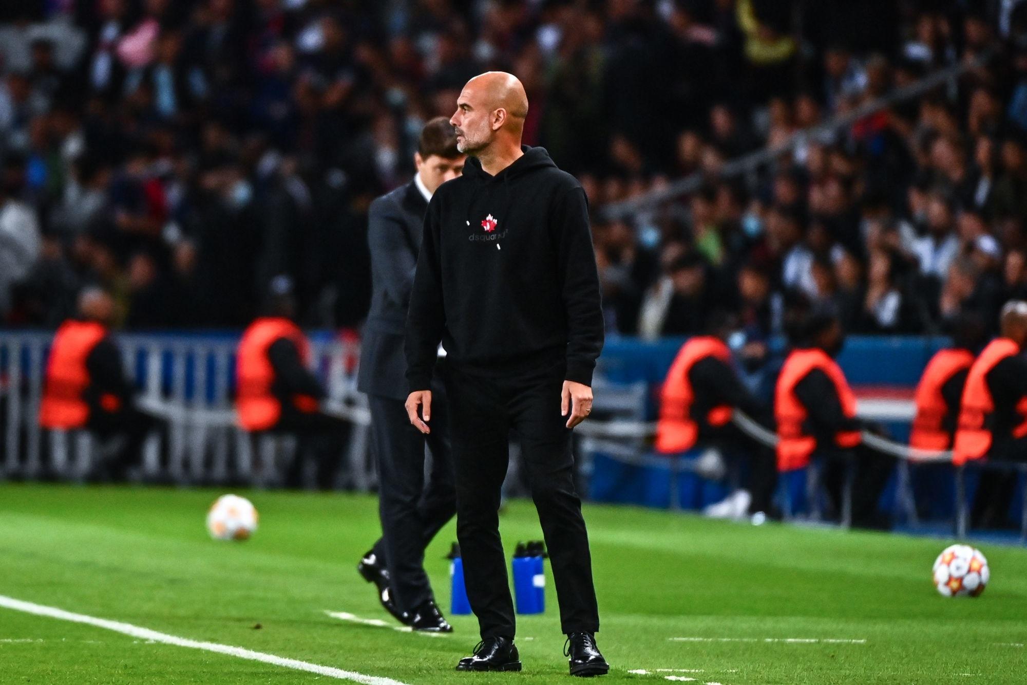 """PSG/City - Guardiola """"On a fait une bonne performance, mais on n'a pas pu marquer"""""""