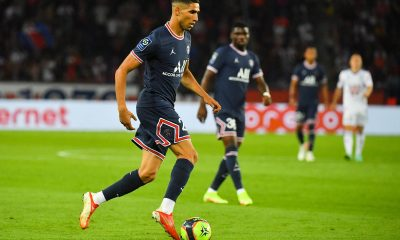 Hakimi largement élu meilleur joueur du PSG en septembre par les supporters