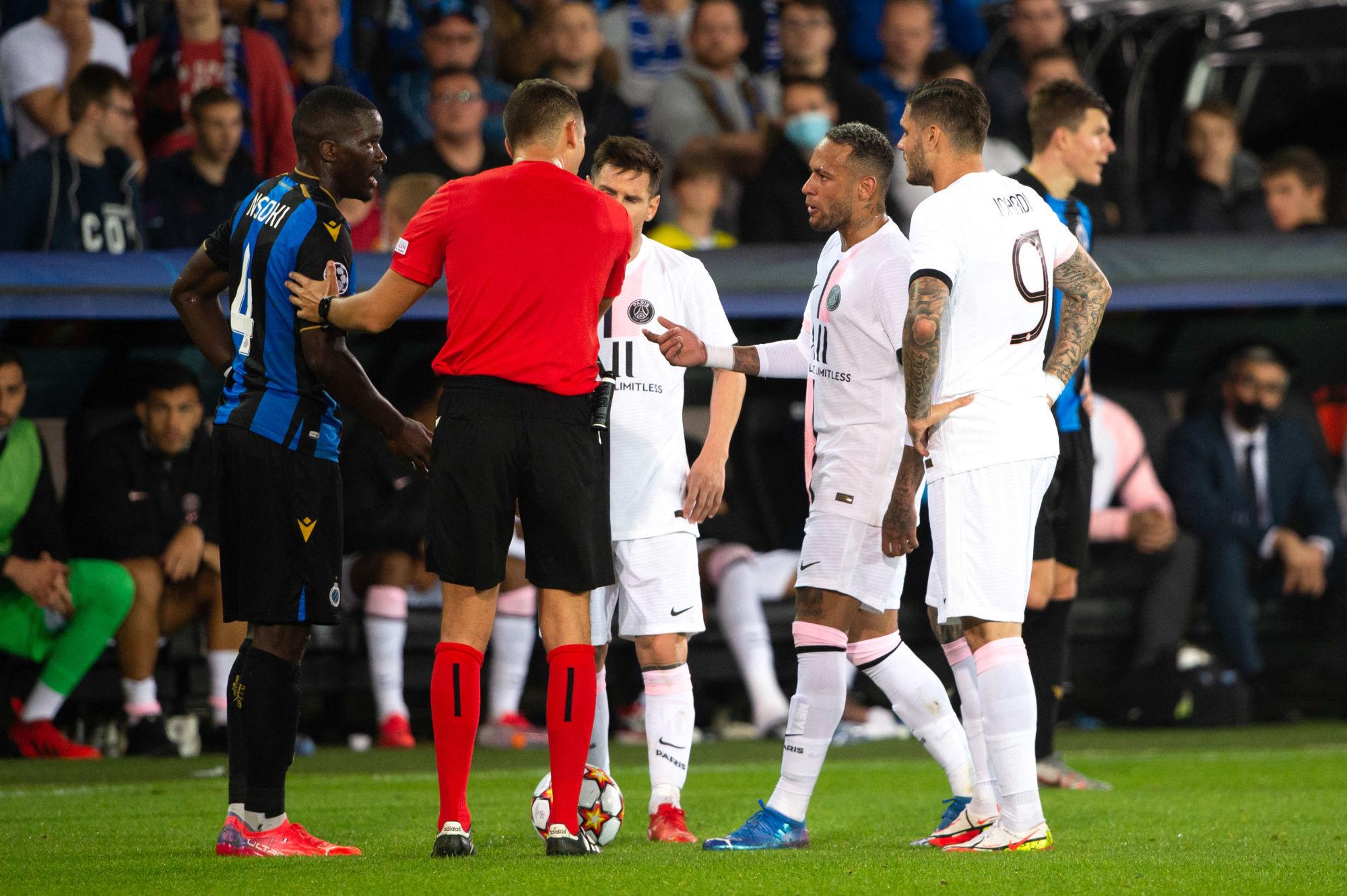 Nsoki revient sur son duel avec Neymar «ça reste sur le rectangle vert»