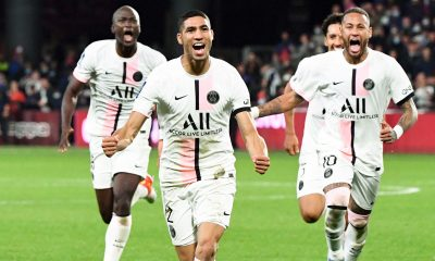 Metz/PSG - Chiffres, résumé, points clefs et focus sur Hakimi et Neymar