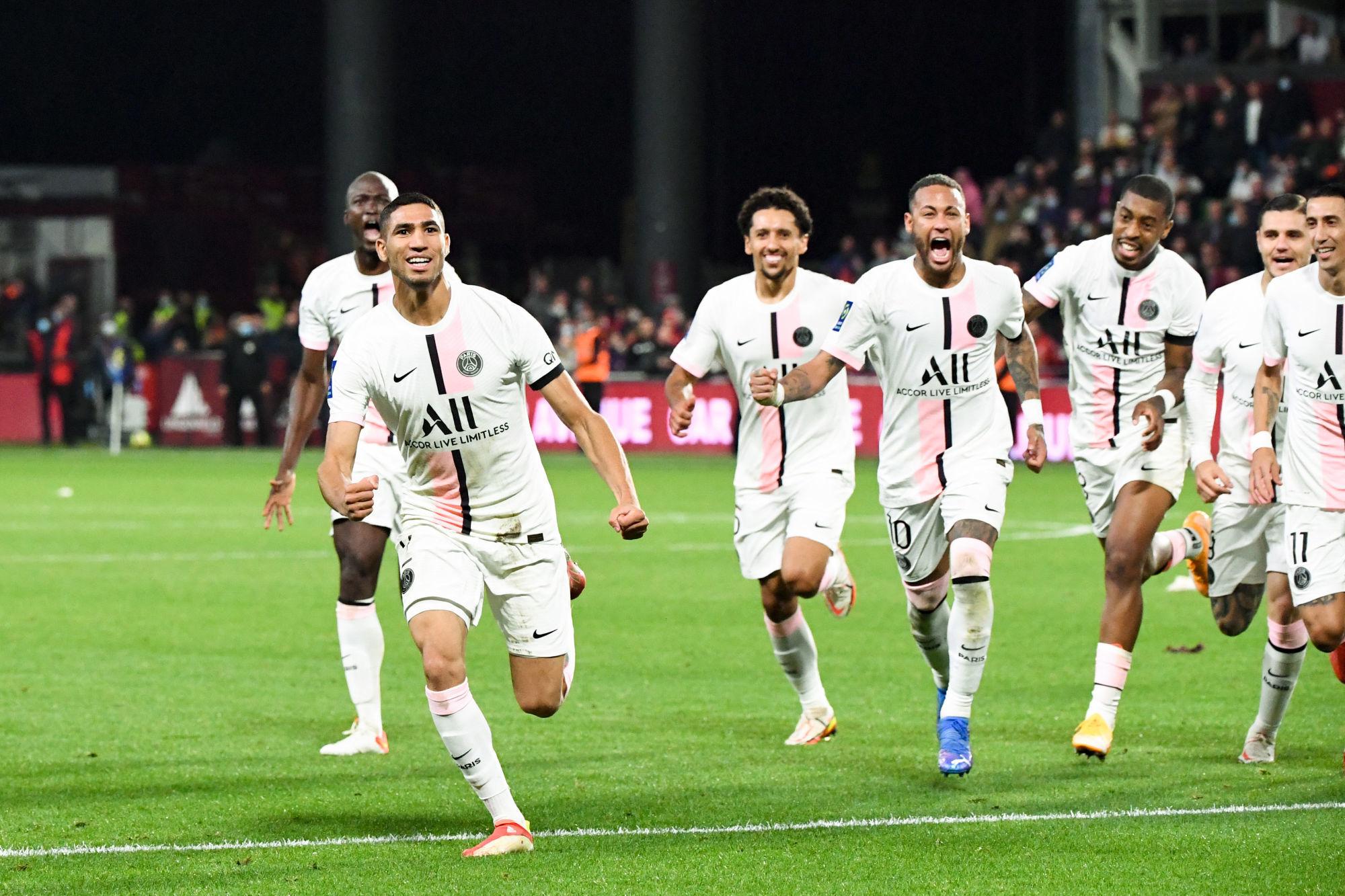 Metz/PSG - Les notes des Parisiens dans la presse : Hakimi brille dans un Paris décevant