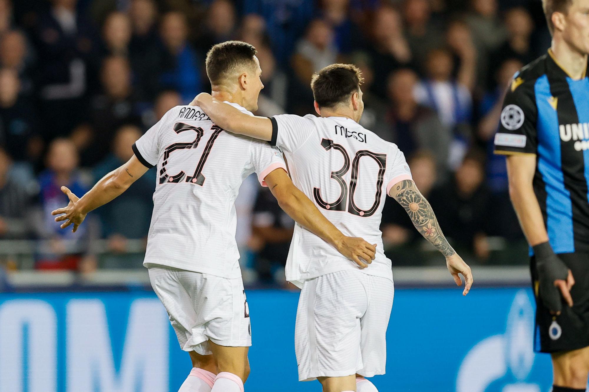 Bruges/PSG - Les tops et flops : Kimpembe, Marquinhos, Messi, Navas, Paredes et Wijnaldum