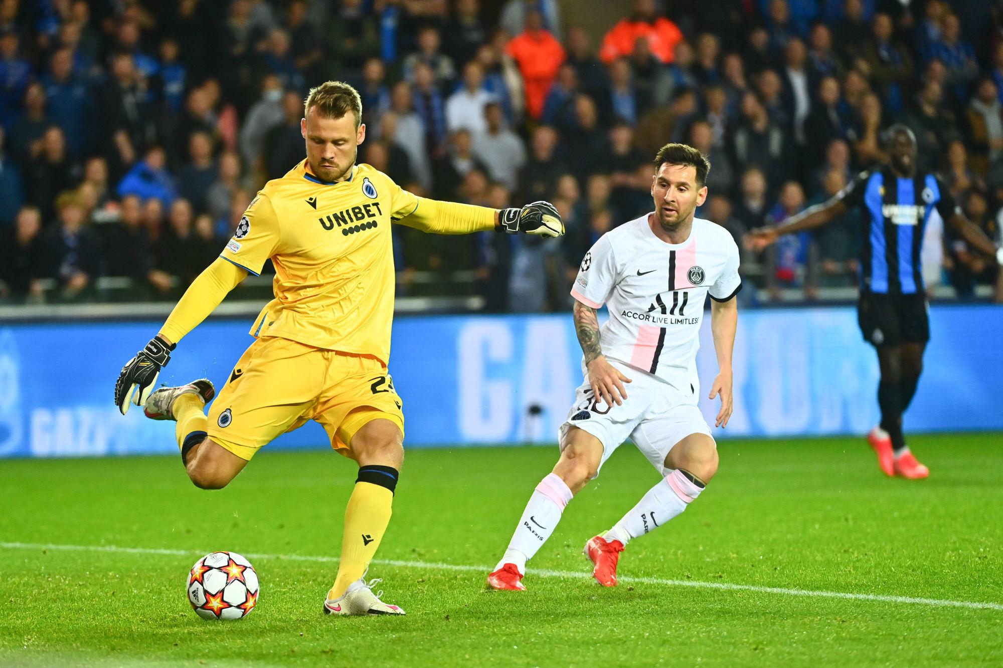 """Bruges/PSG - Mignolet est satisfait """"on a très bien joué, très collectif"""""""