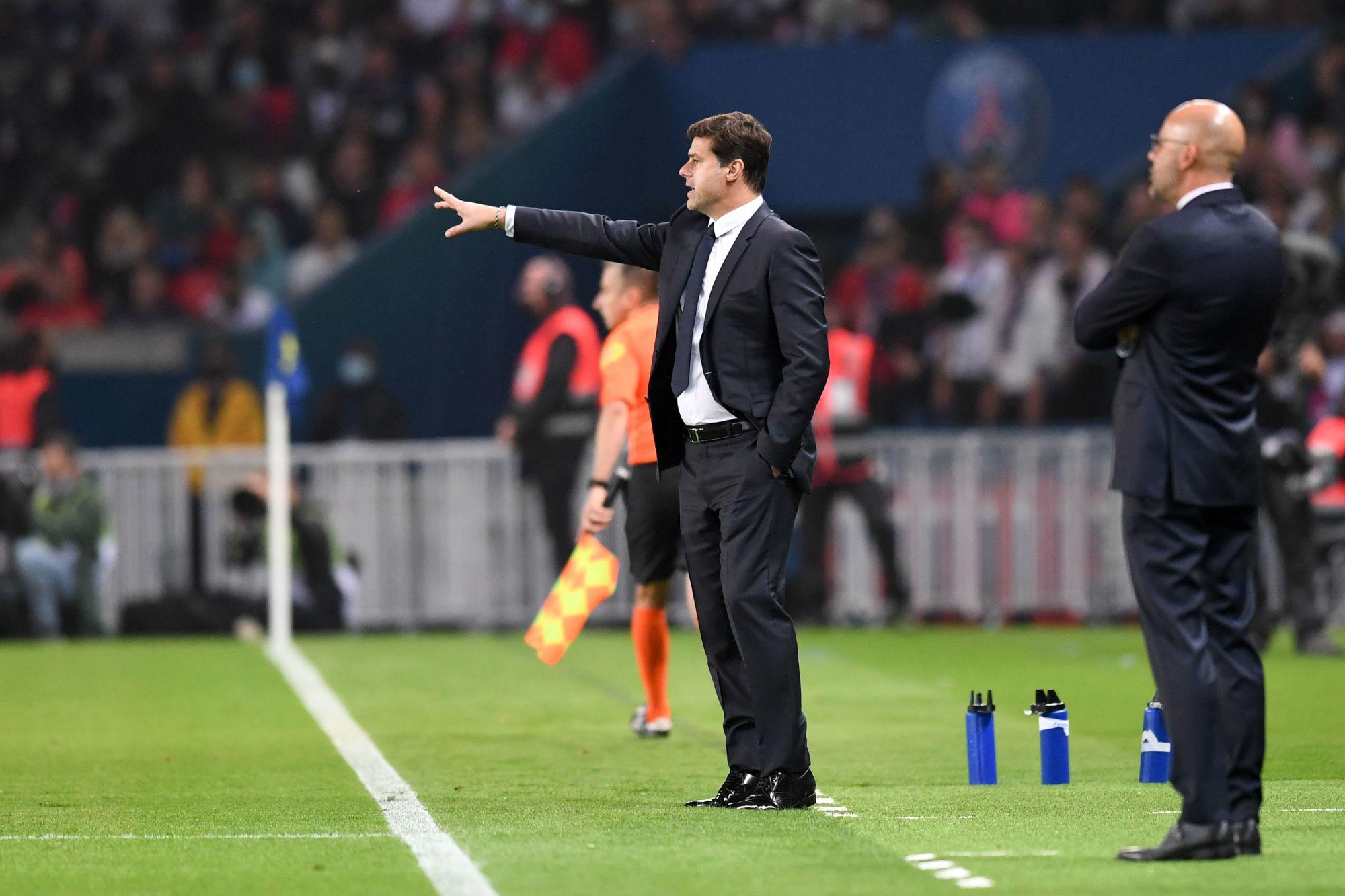 """PSG/Lyon - Pochettino """"On a montré de belles choses mais on est encore en pleine préparation"""""""