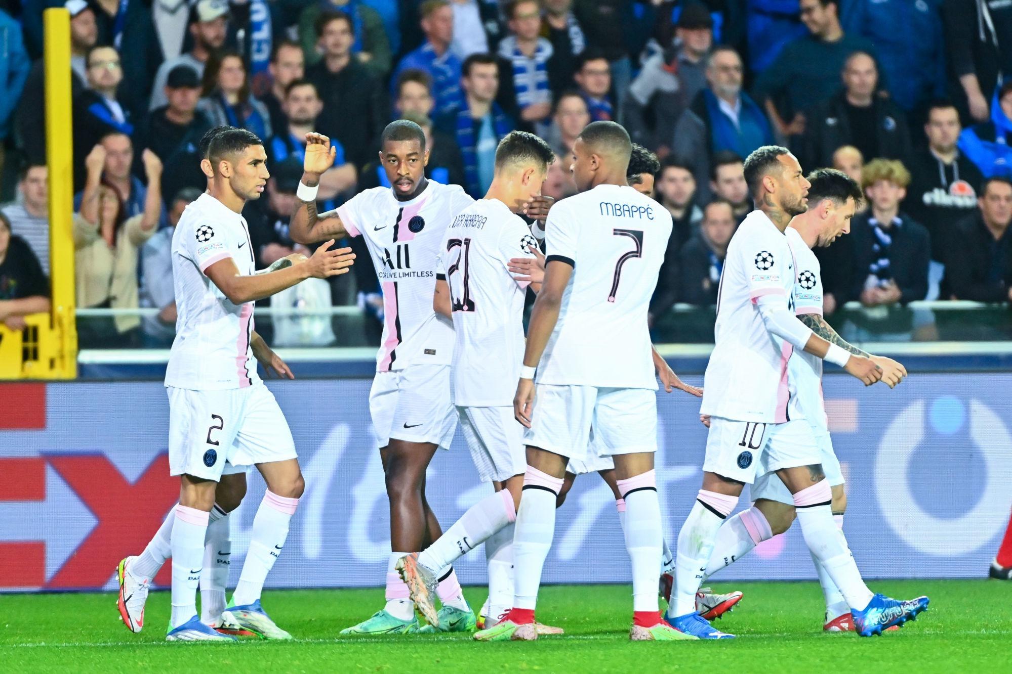 Bruges/PSG - Qui a été le meilleur joueur parisien ?