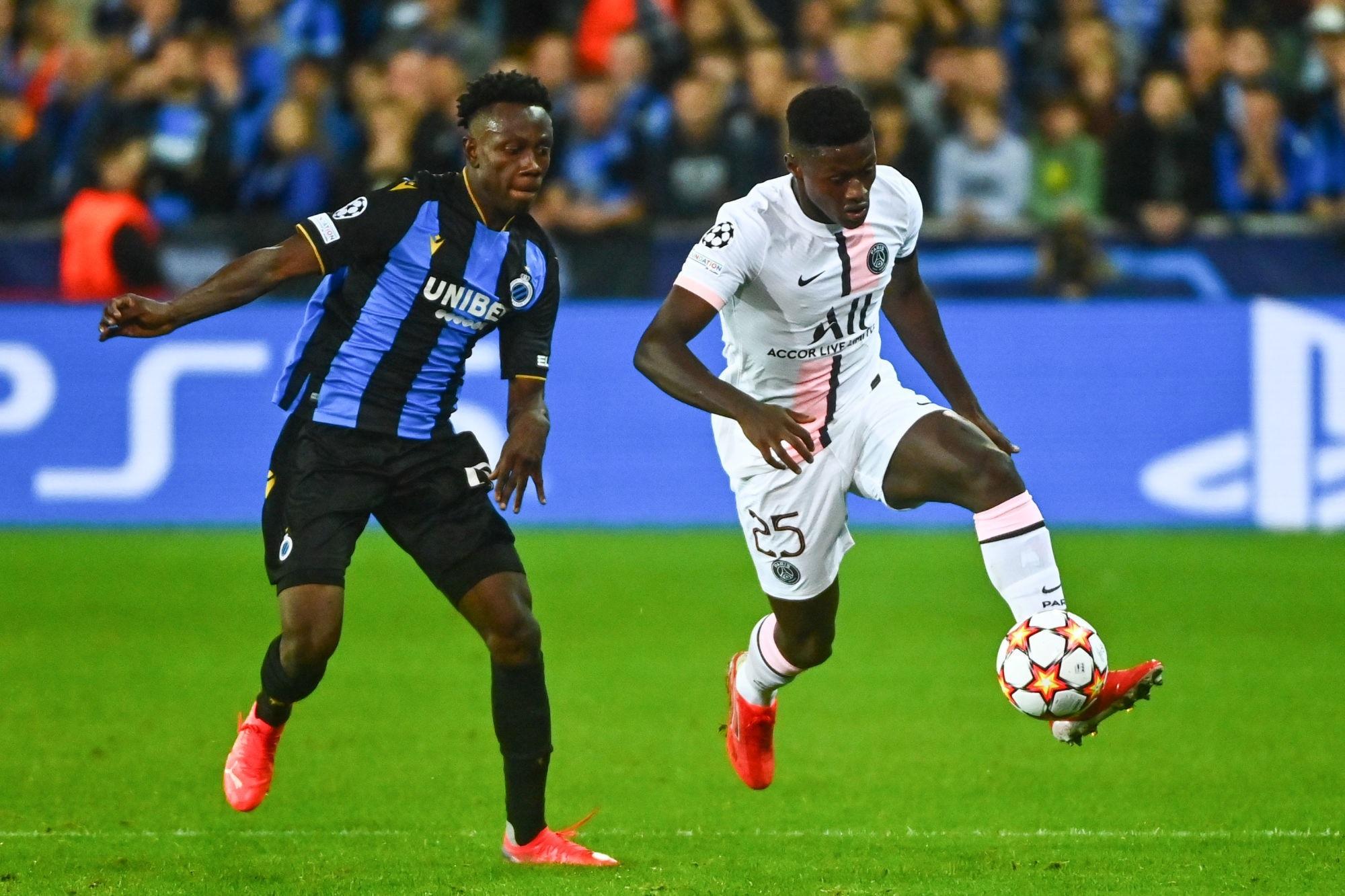 """Bruges/PSG - Nuno Mendes heureux d'avoir joué, mais """"déçu du résultat"""""""