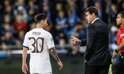 """Il n'y a """"aucune tension"""" entre Pochettino et Messi, souligne Le Parisien"""