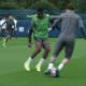 PSG/City – Retrouvez des extraits de l'entraînement auprès de Messi
