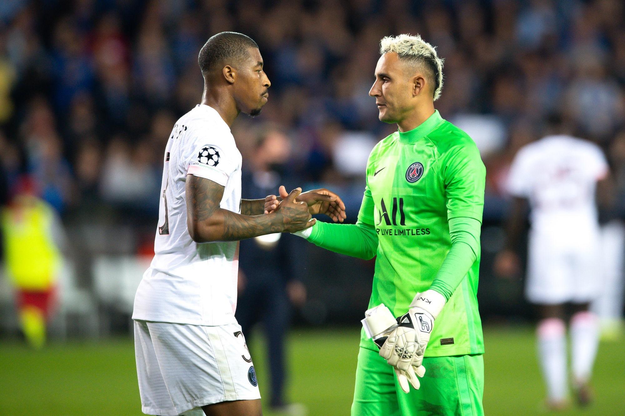 """Bruges/PSG - Navas """"nous devons devenir un collectif plus solide pour être meilleurs."""""""