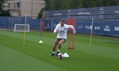 PSG/Lille - Ramos absent de l'entraînement collectif parisien ce mardi