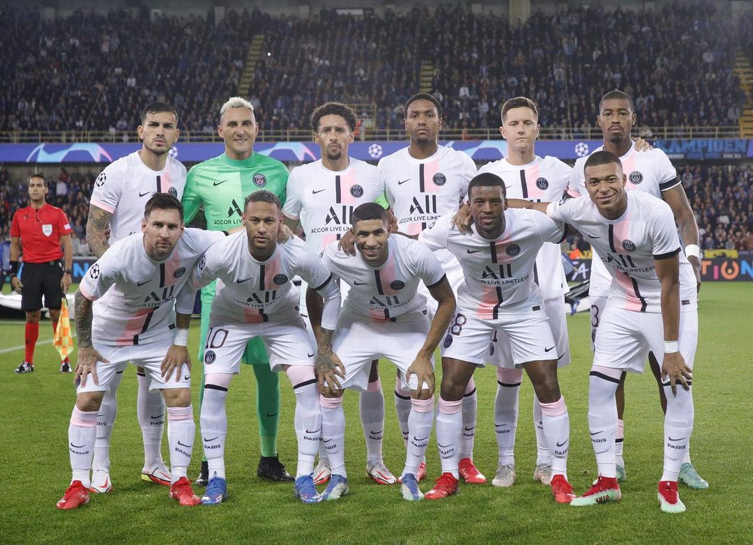 Les images du PSG ce jeudi: Chiffres clés, coulisses Bruges/PSG et Trophées UNFP