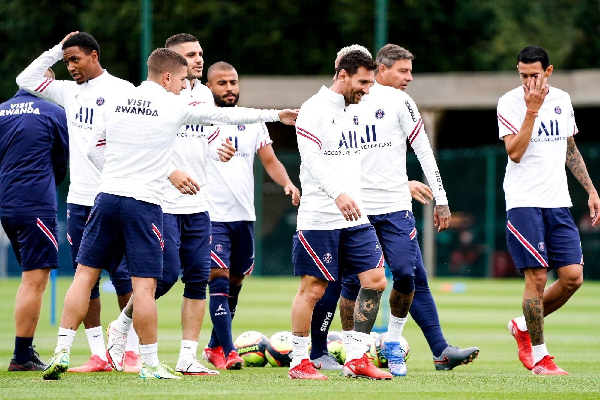 PSG/City - Messi et Verratti présents à l'entraînement ce lundi