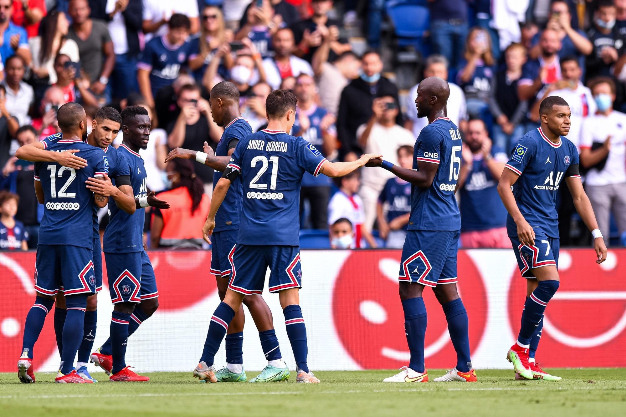 Ligue 1 - 4 joueurs du PSG dans l'équipe-type de la 5e journée de L'Equipe