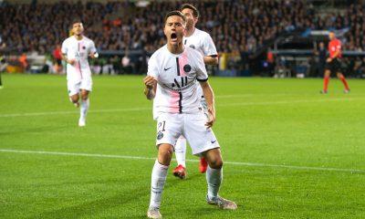 Bruges/PSG - Herrera élu meilleur joueur parisien par les supporters