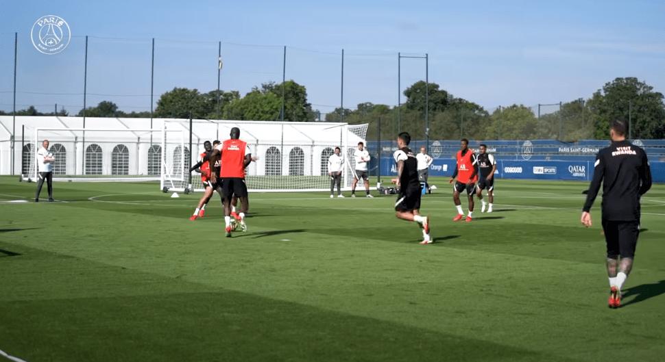 PSG/Lyon - Retrouvez des extraits des entraînements parisiens